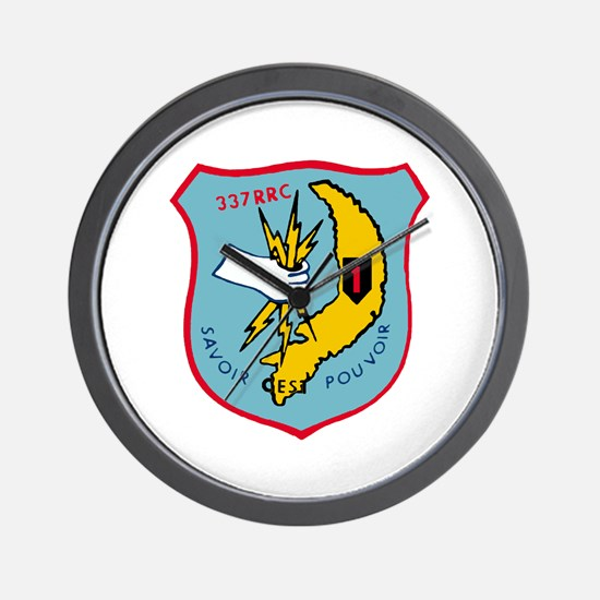 337th RRC ASA LFCF Wall Clock