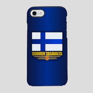 Finland Flag Iphone 7 Tough Case