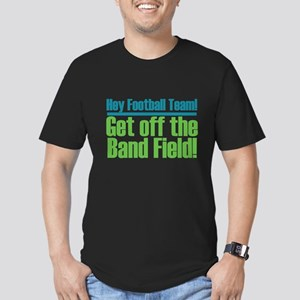 Marching Band Field Men's Fitted T-Shirt (dark)