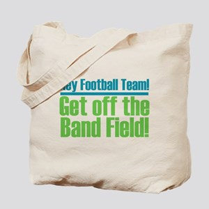 Marching Band Field Tote Bag