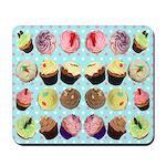 Polka Dot Cupcakes Mousepad