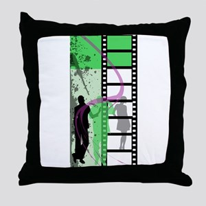Movie Maker Throw Pillow