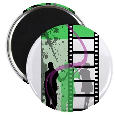 "Movie Maker 2.25"" Magnet (100 pack)"