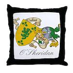 O'Sheridan Family Sept Throw Pillow