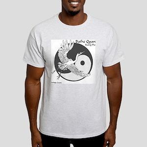 Baihe Quan Logo Ash Grey T-Shirt