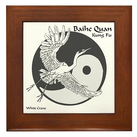 Baihe Quan Logo Framed Tile