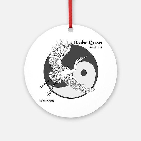 Baihe Quan Logo Ornament (Round)