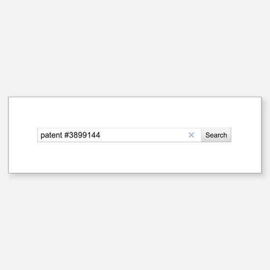 Search: Patent #3899144 Sticker (Bumper)