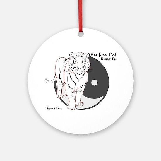 Fu Jow Pai Logo Ornament (Round)