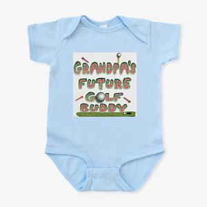Grandpa's Future Golf Buddy Infant Creeper