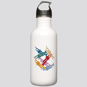 Colorful Trumpets Stainless Water Bottle 1.0L