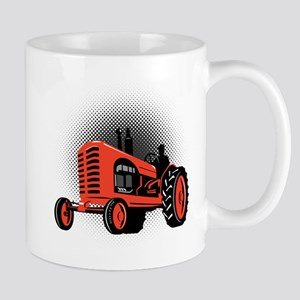 vintage farm tractor Mug