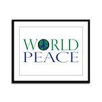 World Peace Framed Panel Print