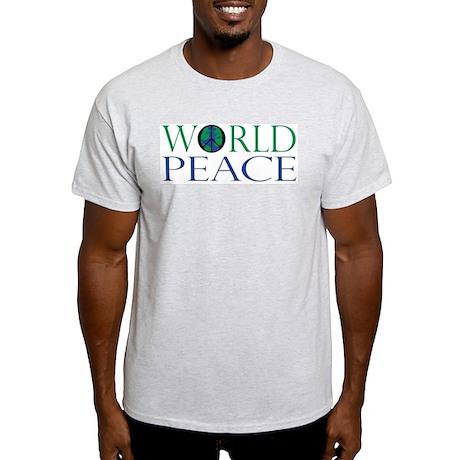 World Peace Light T-Shirt