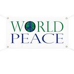 World Peace Banner