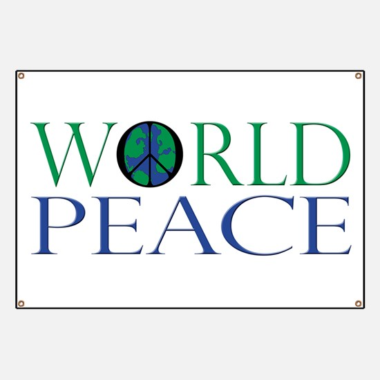 World Peace Banner