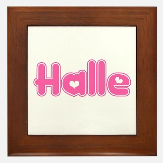 """""""Halle"""" Framed Tile"""