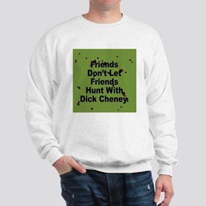 b875b431b6 Dick Cheney Hunting Accident Gun Sweatshirts   Hoodies - CafePress