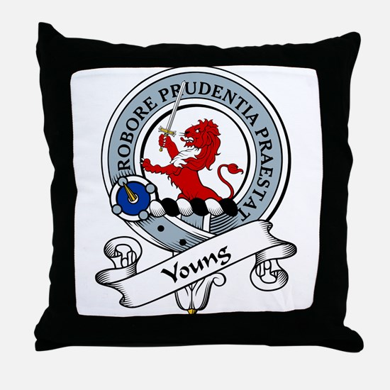 Young Clan Badge Throw Pillow