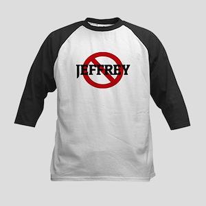 Anti-Jeffrey Kids Baseball Jersey