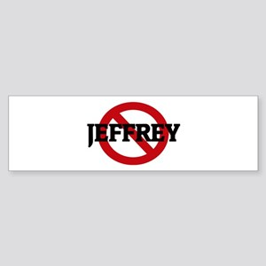 Anti-Jeffrey Bumper Sticker