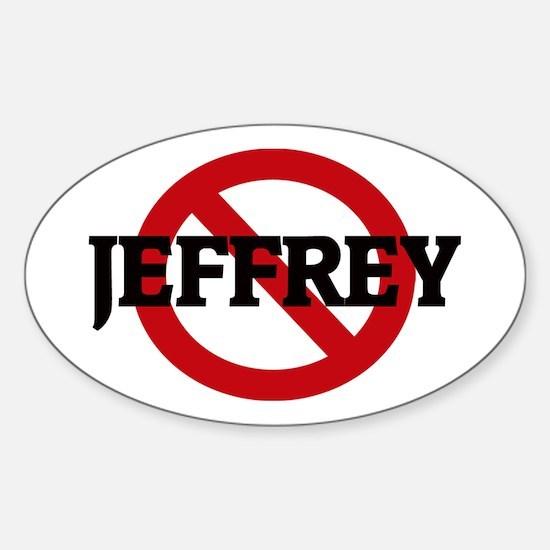 Anti-Jeffrey Oval Decal