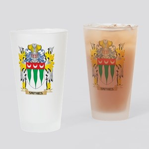 Smithies Family Crest - Coat of Arm Drinking Glass