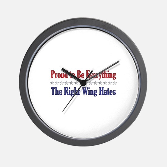 Everything They Hate Wall Clock