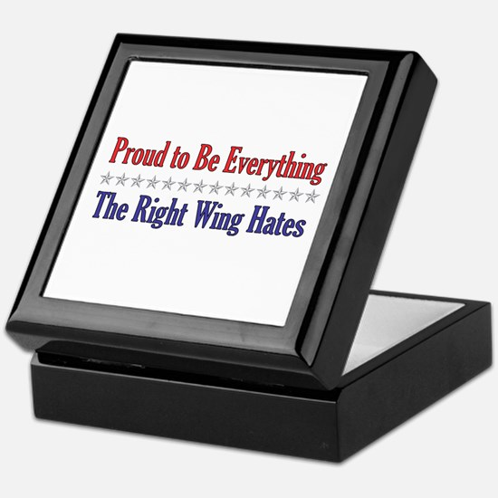 Everything They Hate Keepsake Box