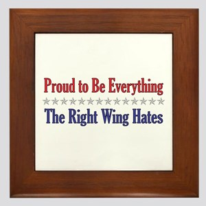 Everything They Hate Framed Tile
