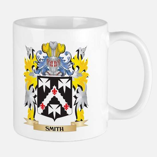 Smith Family Crest - Coat of Arms Mugs
