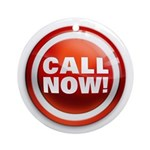 CALL NOW Ornament (Round)