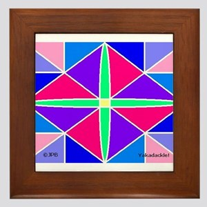 Pulsar Framed Tile