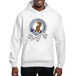 Wedderburn Clan Badge Hooded Sweatshirt