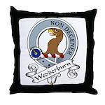Wedderburn Clan Badge Throw Pillow