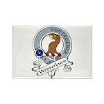 Wedderburn Clan Badge Rectangle Magnet (10 pack)