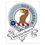 Wedderburn Clan Badge Small Poster