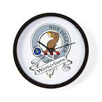 Wedderburn Clan Badge Wall Clock