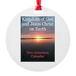 New Jerusalem Round Ornament