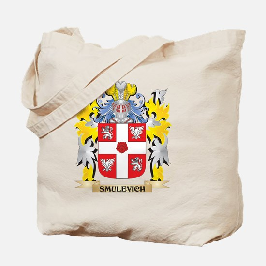 Smulevich Family Crest - Coat of Arms Tote Bag