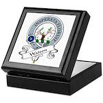Watson Clan Badge Keepsake Box