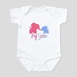 Big Sister Girl/Boy Infant Bodysuit