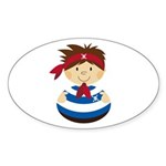 Cute Pirate Boy Sticker (10 pk)