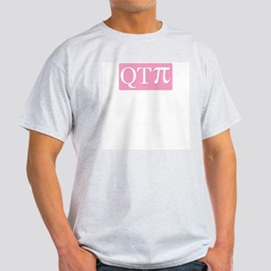 Cutie Pi Ash Grey T-Shirt