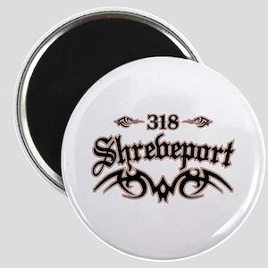 Shreveport 318 Magnet