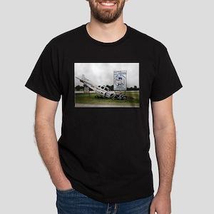 Sky Dive Texas Black T-Shirt