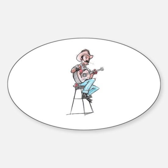 Unplugged Sticker (Oval)