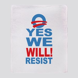 Anti Obama Throw Blanket