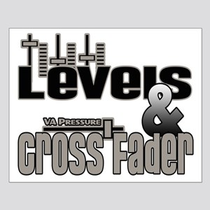 levels & cross fader Small Poster