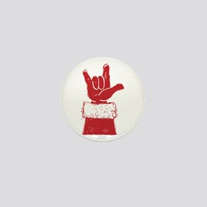 Santa Mini Button (10 pack)